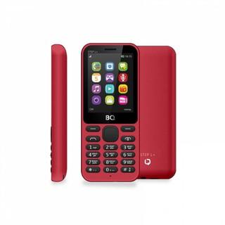 Кнопочный Телефон BQ 2431 Step L+ Красный