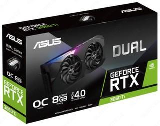 Видеокарта ASUS Dual GeForce RTX 3060 Ti OC 8GB (Только в сборке!)