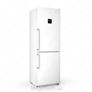 Двухкамерный холодильник Artel HD 364RWEN (белый cтальной серый)