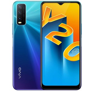 Смартфон vivo Y20 4/64GB Blue