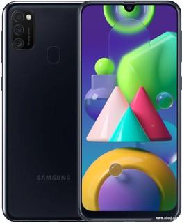 Смартфон Samsung Galaxy M21 SM-M215F/DS 4GB/64GB (черный) (62117)