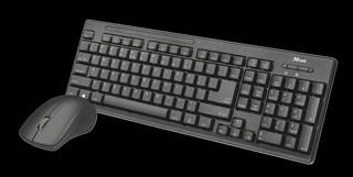 Клавиатура и мышь Trust Ziva