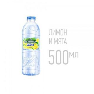 Вода Montella Sweet - лимон и мята, 500 мл