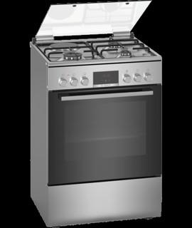 Serie | 6 Комбинрованная плита Нержавеющая сталь HXC39AG50Q